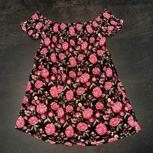 Mini off the Shoulder Dress